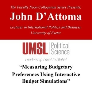 john d attoma measuring budgetary preferences using interactive