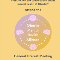 Oberlin Mental Health Alliance General Interest Meeting