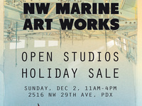 NW Marine Art Works Open Studios Holiday Sale
