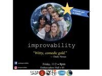 Improvability – Parent's Weekend Show! (Parents get in FREE!)