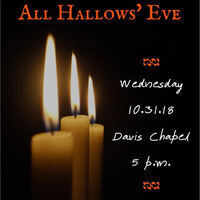 All Hallows' Eve: A Service of Spooky Stories and Sacred Prayer