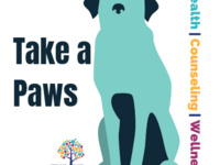 Take a Paws: Therapy Dogs