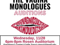 Vagina Monologues Auditions