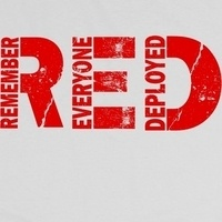 "Wear RED ""Remember Everyone Deployed"""