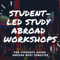 "Study Abroad Workshop"" Managing Your Finances Abroad"