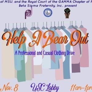 Help a Bear Out - Clothing Drive