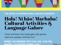Hola! Ni Hao! Marhaba! Cultural Activities and Language Galore