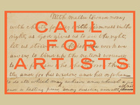 "Call for Artists - ""A new birth of freedom..."" - a juried art exhibition"