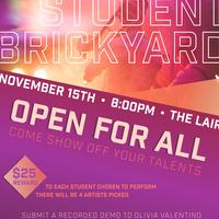 CANCELED: The Brickyard Series: Student Brickyard