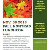 Fall NonTrad Luncheon