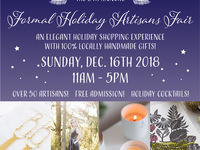 Handmade NW Formal Holiday Artisans Fair