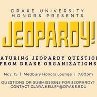 Honors Jeopardy