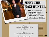 Meet the Nazi Hunter: Efraim Zuroff