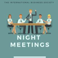 International Business Presents: Night Meeting