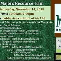 GMU's Majors Resource Fair and One-on-One Appointments