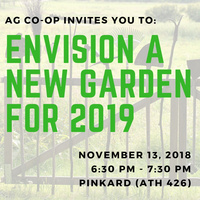 Envisioning Goucher's Community Garden in 2019