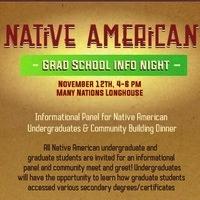 Native American Grad School Info Night