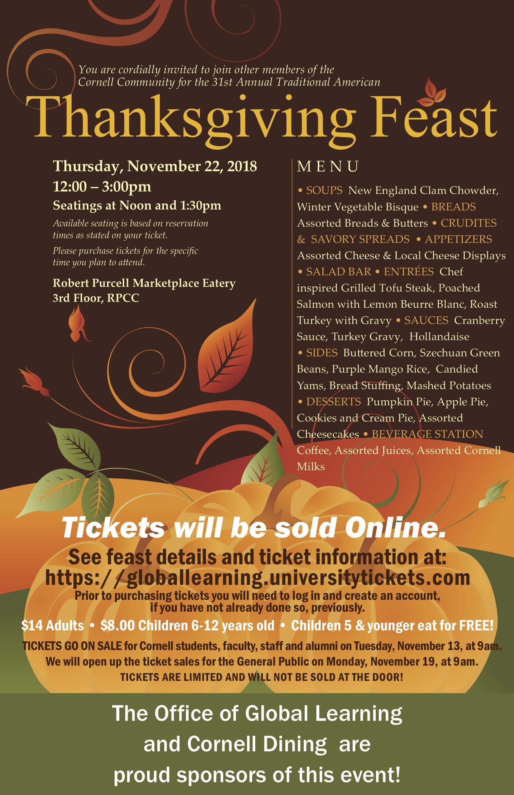 Thanksgiving Feast 2018