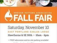 Oregon Potters Association Fall Fair 2018