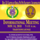 Omega Psi Phi Fraternity, Inc. Fall 2018 Informational Meeting
