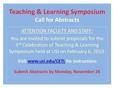 Teaching & Learning Symposium Call For Abstracts