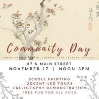AMAM Community Day: Hanging Scrolls