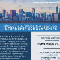 Community & Project-Based Learning Internship Scholarships