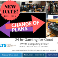 Attention gamers! LU Esports Association to raise money for charity in 24-hour live Gaming for Good event (RESCHEDULED) | LTS