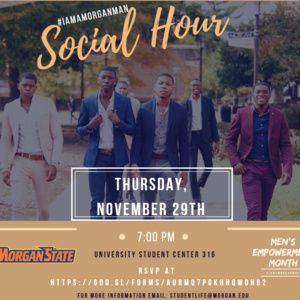 Men's Empowerment Month: SOCIAL HOUR