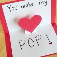 I Heart You Card Making