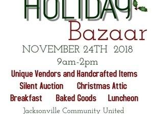Annual Holiday Bazaar!