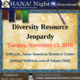 OHANA! Presents Diversity Resource Jeopardy