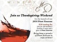 Coelho Winery Thanksgiving Weekend