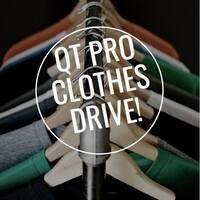 QT Pro Clothes Drive