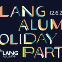 Lang Alumni Holiday Party
