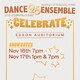 Dance Ensemble Fall Performance: Celebrate