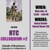 RTC Colloquium: Islands of Resistance