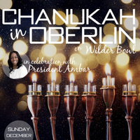 Grand Menorah Lighting & Chanukah Party with President Ambar