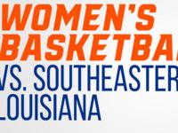 Bearkat Women's Basketball vs. Southeastern Louisiana