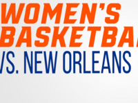 Bearkat Women's Basketball vs. New Orleans