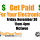 Sell Your Tech Collection Event
