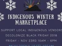 Indigenous Winter Marketplace
