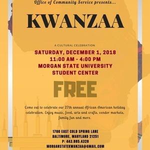 27th Annual Kwanzaa Celebration