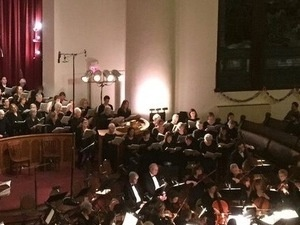 A Concert by the Ithaca Community Chorus and Chamber singers