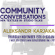 Community Conversations #5: MFA Textiles In-Studio Talks with Aleksandr Karjaka