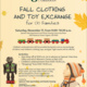 Fall Clothing and Toy Exchange for UO Families