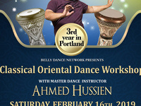 Classical Oriental Dance Workshop w/Ahmed Hussien