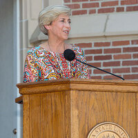 Mary B. Coburn Health and Wellness Center Dedication Ceremony