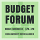 Budget Forum