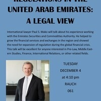 Securities Regulations in the United Arab Emirates: A Legal View | International Relations